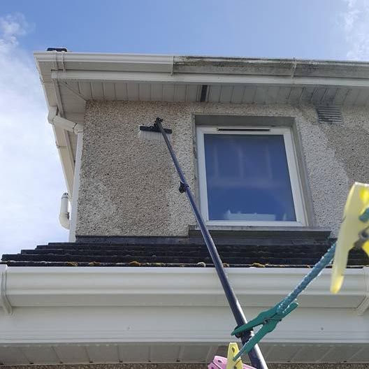 Gutter fascia and soffit cleaning in Waterford and the South East