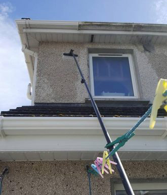 Waterford gutter cleaning